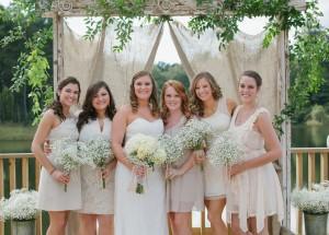 Blush Tone Bridesmaid Dresses