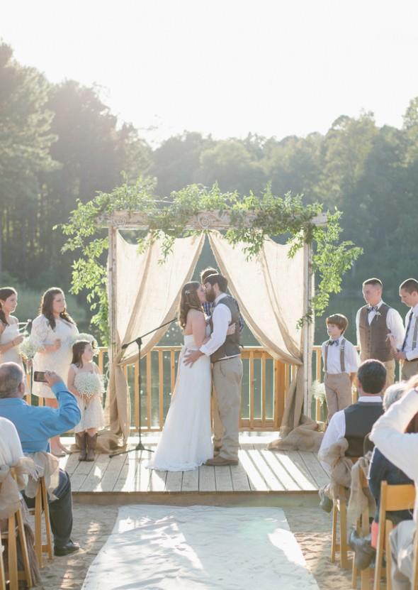 Southern Elegant Rustic Country Wedding Rustic Wedding Chic