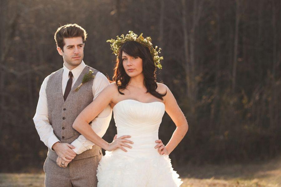 Rustic Romantic Bride