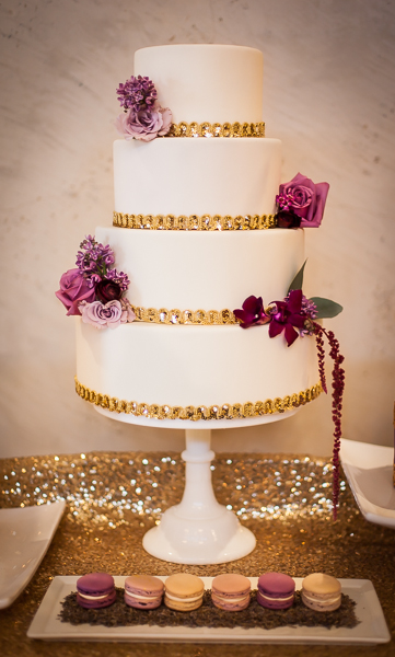 purple and gold wedding cake rustic purple wedding inspiration rustic wedding chic 18852