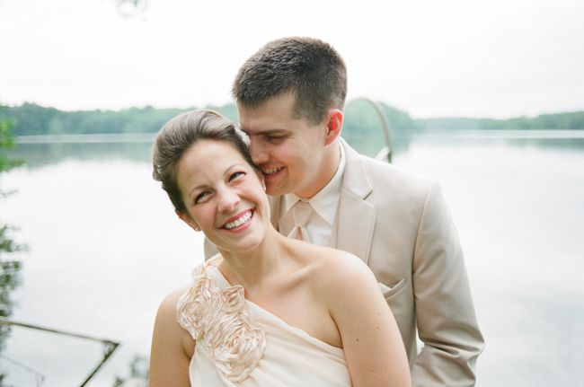 Wedding By Lake