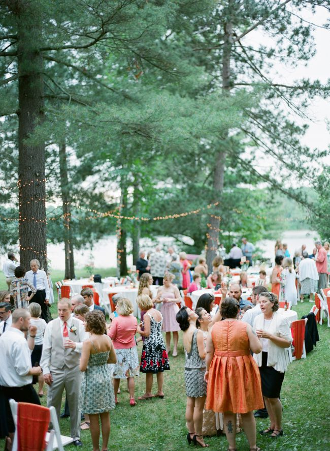 A Lakeside Wedding At A Cabin Rustic Wedding Chic