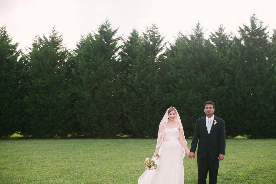 Rustic Wedding Couple