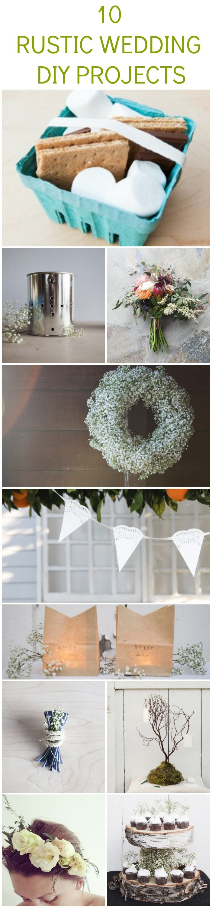 10 Rustic Wedding DIY Projects You Should Try - Rustic ...