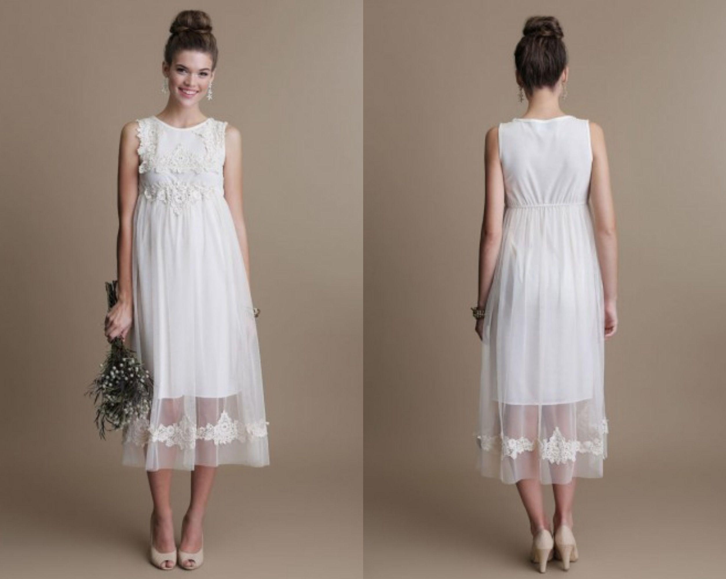 Boho Style Wedding Gowns - Rustic Wedding Chic