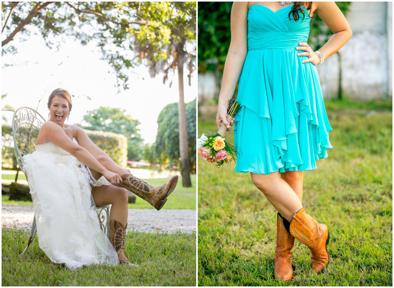 Florida country wedding