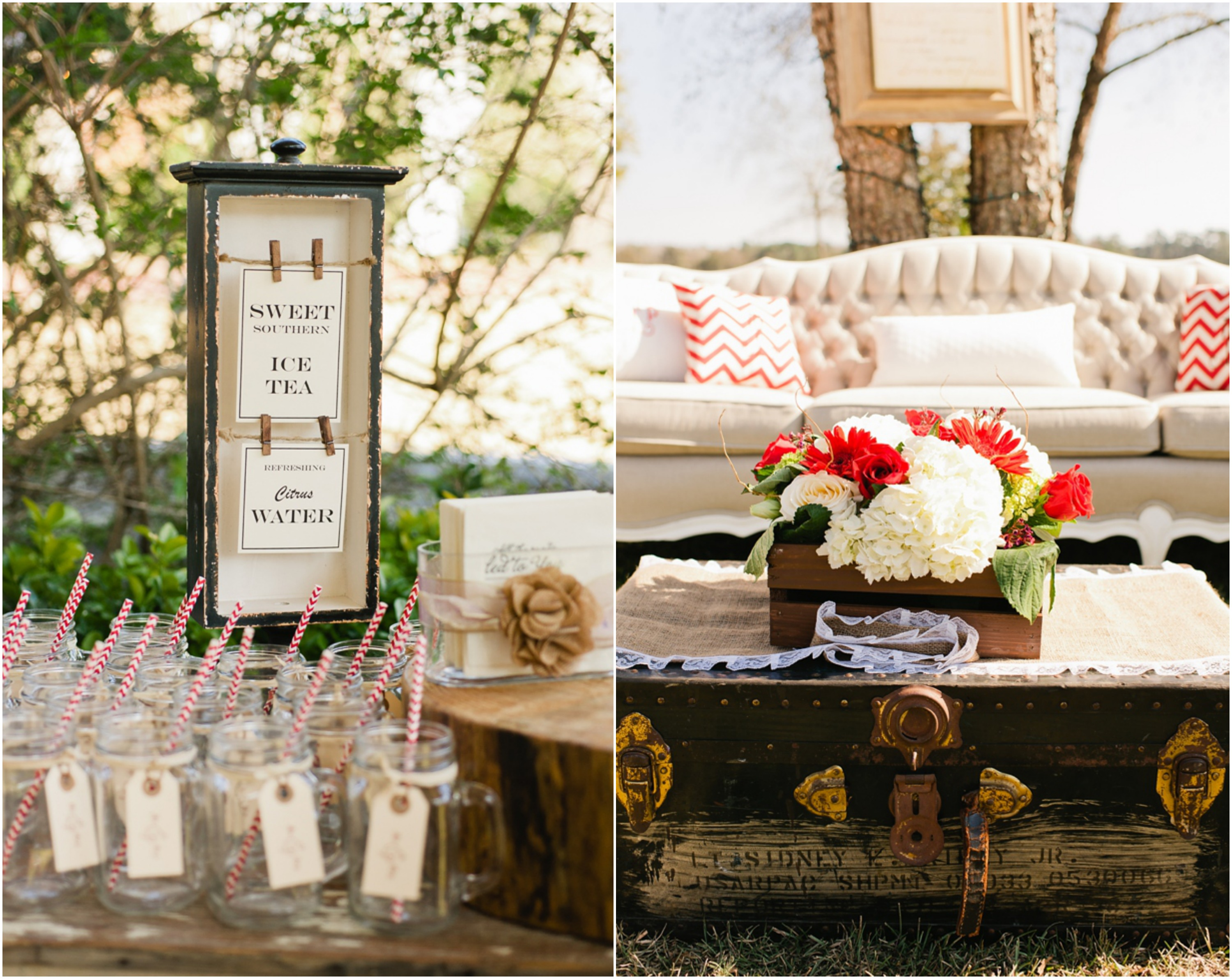 Rustic wedding chic rustic country weddings rustic for Country wedding reception decorations