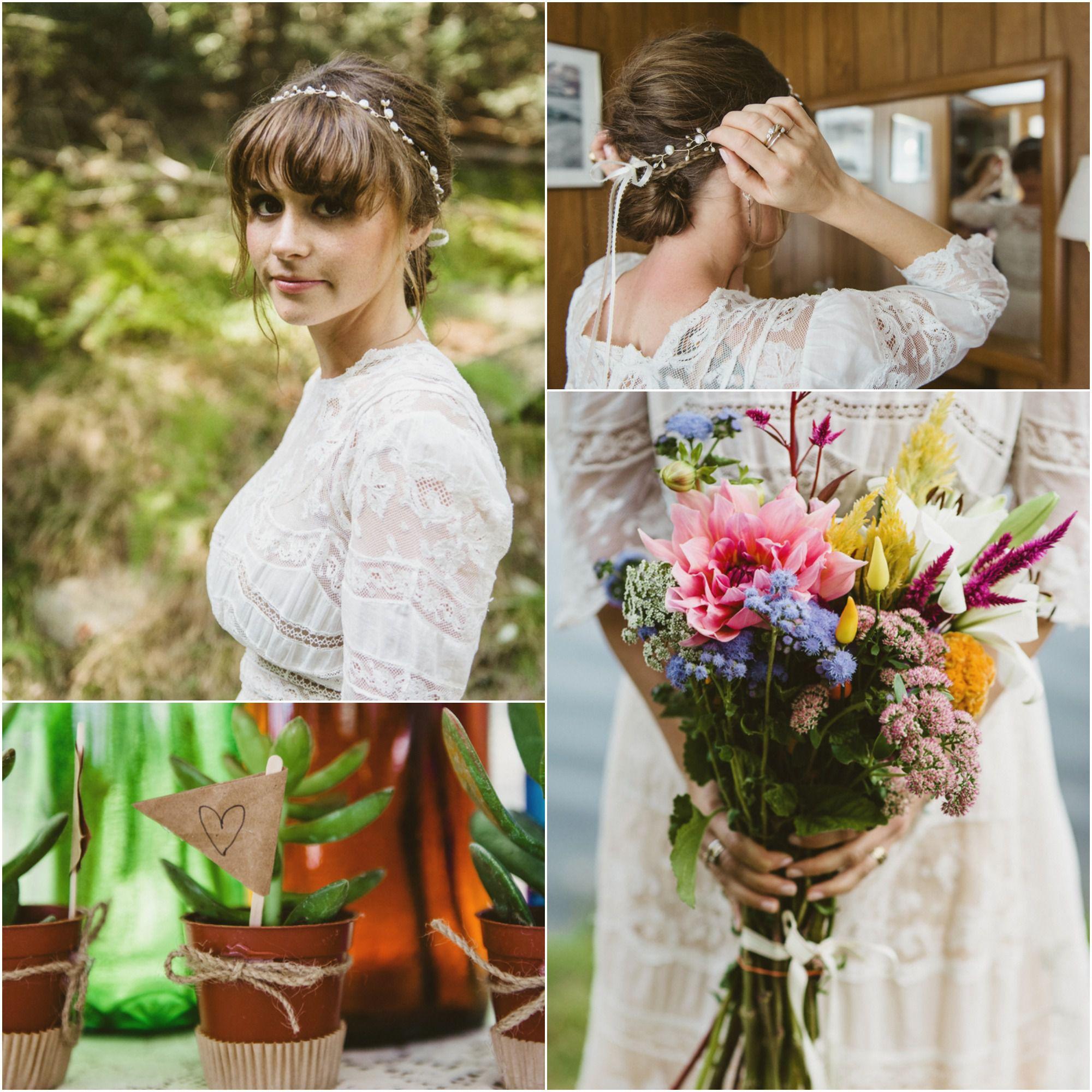 Rustic Wedding Chic: Rustic Scottish Wedding