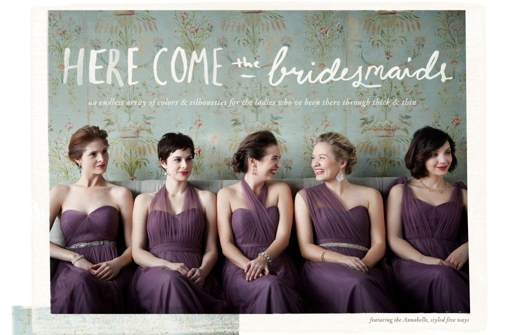 Bridesmaid Dresses From BHLDN