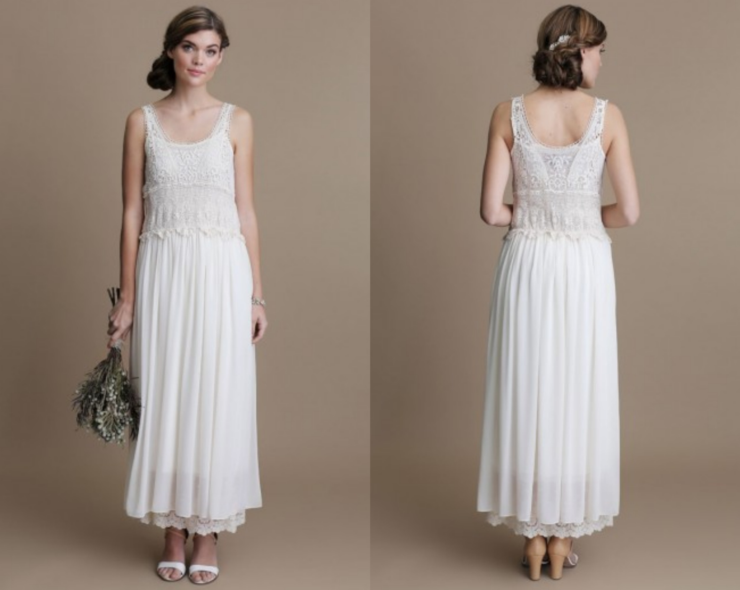 Vintage Lace Country Style Wedding Dresses 2013