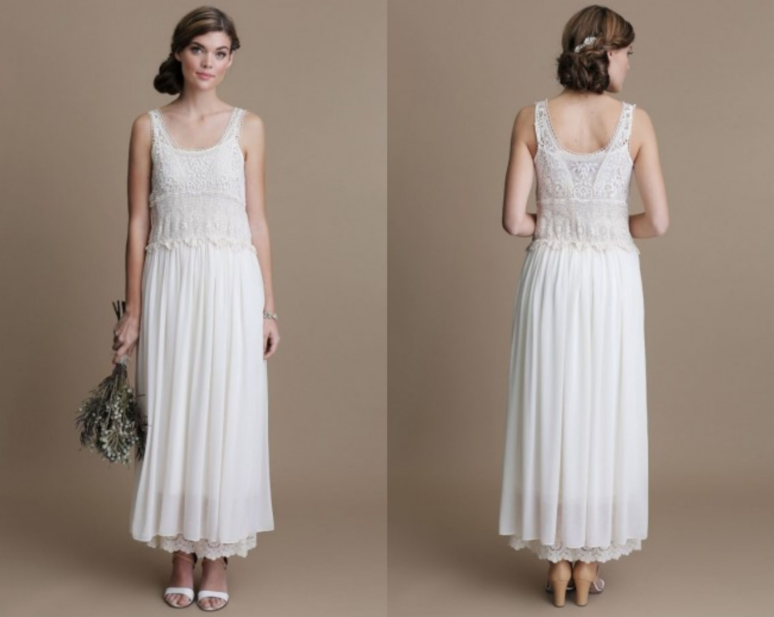 Boho Style Wedding Gowns - Rustic Wedding Chic