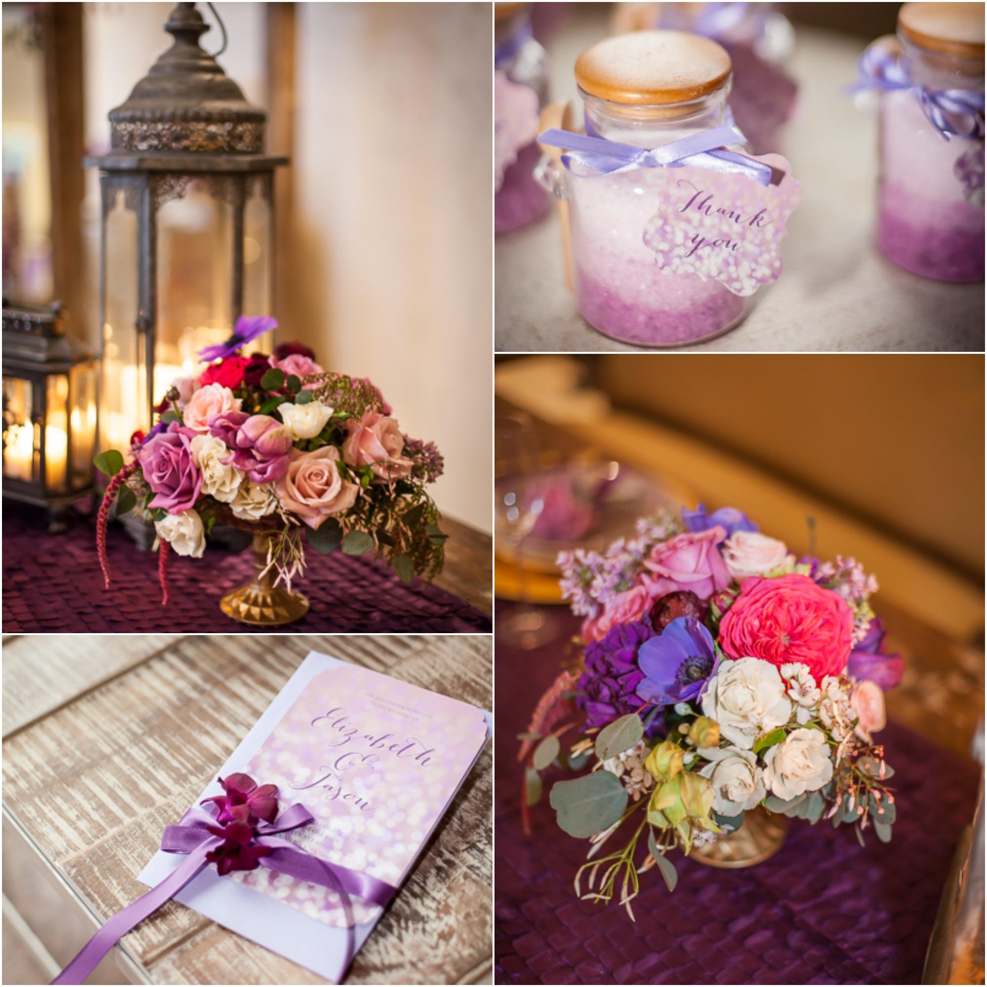 Purple Ideas For Weddings: Rustic Purple Wedding Inspiration