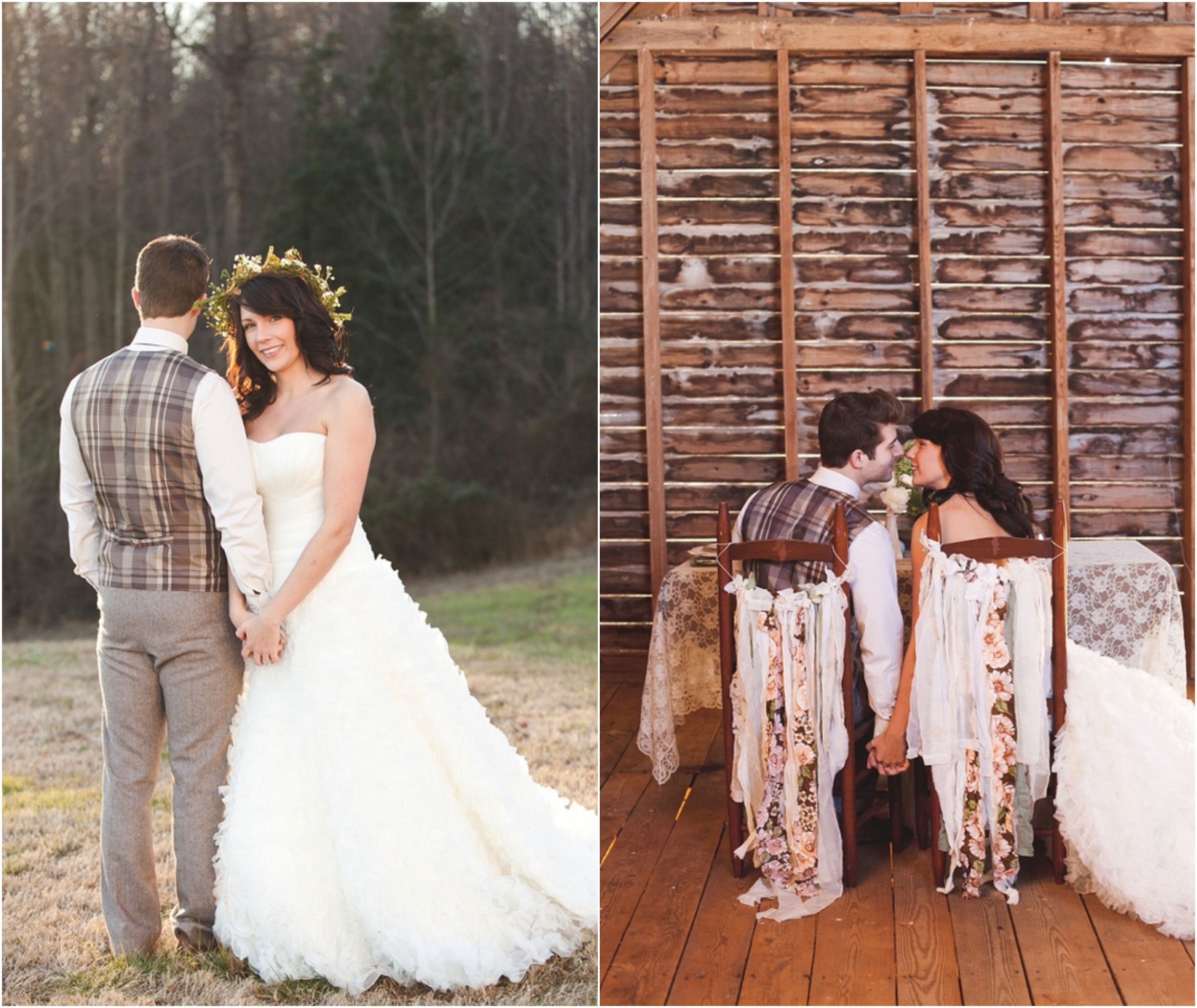 Rustic Wedding Gifts For Bride And Groom : Romantic Rustic Wedding Inspiration - Rustic Wedding Chic