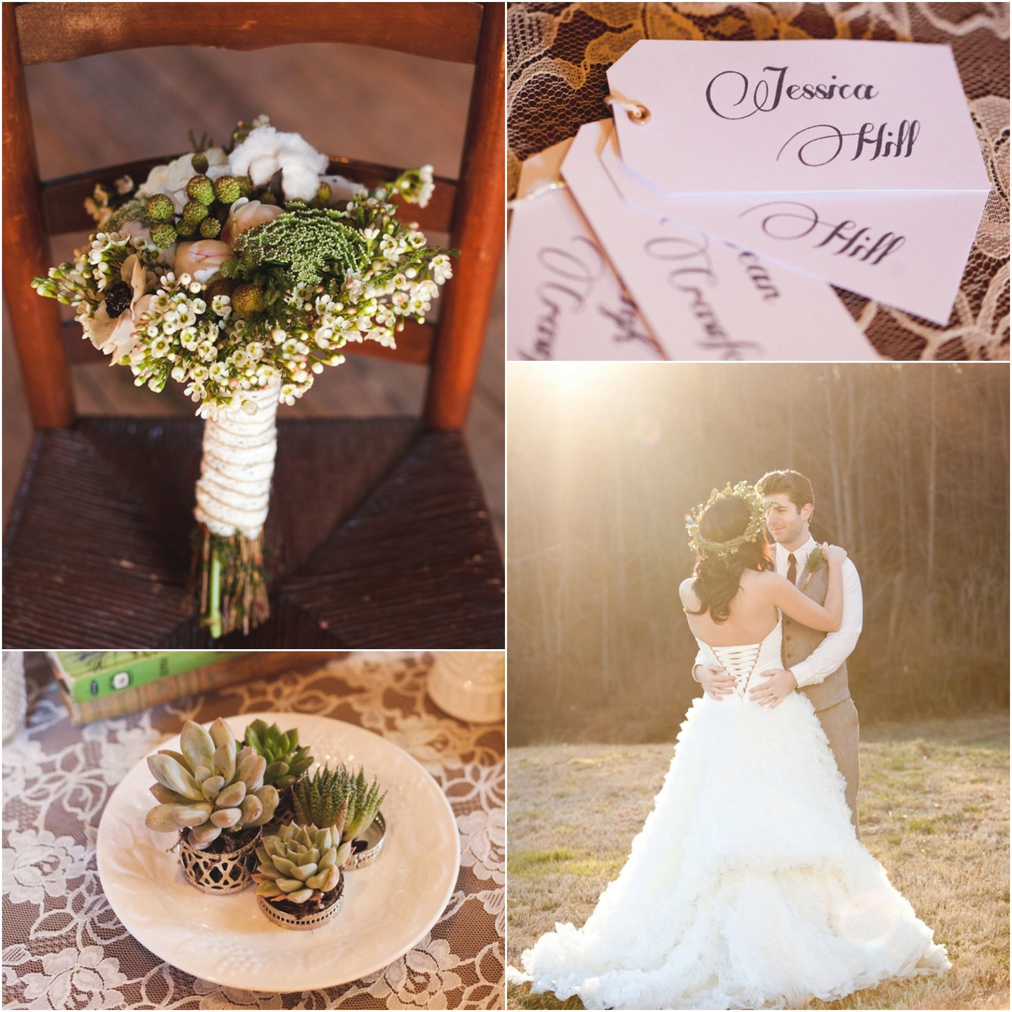 Wedding Ideas And Inspirations: Romantic Rustic Wedding Inspiration