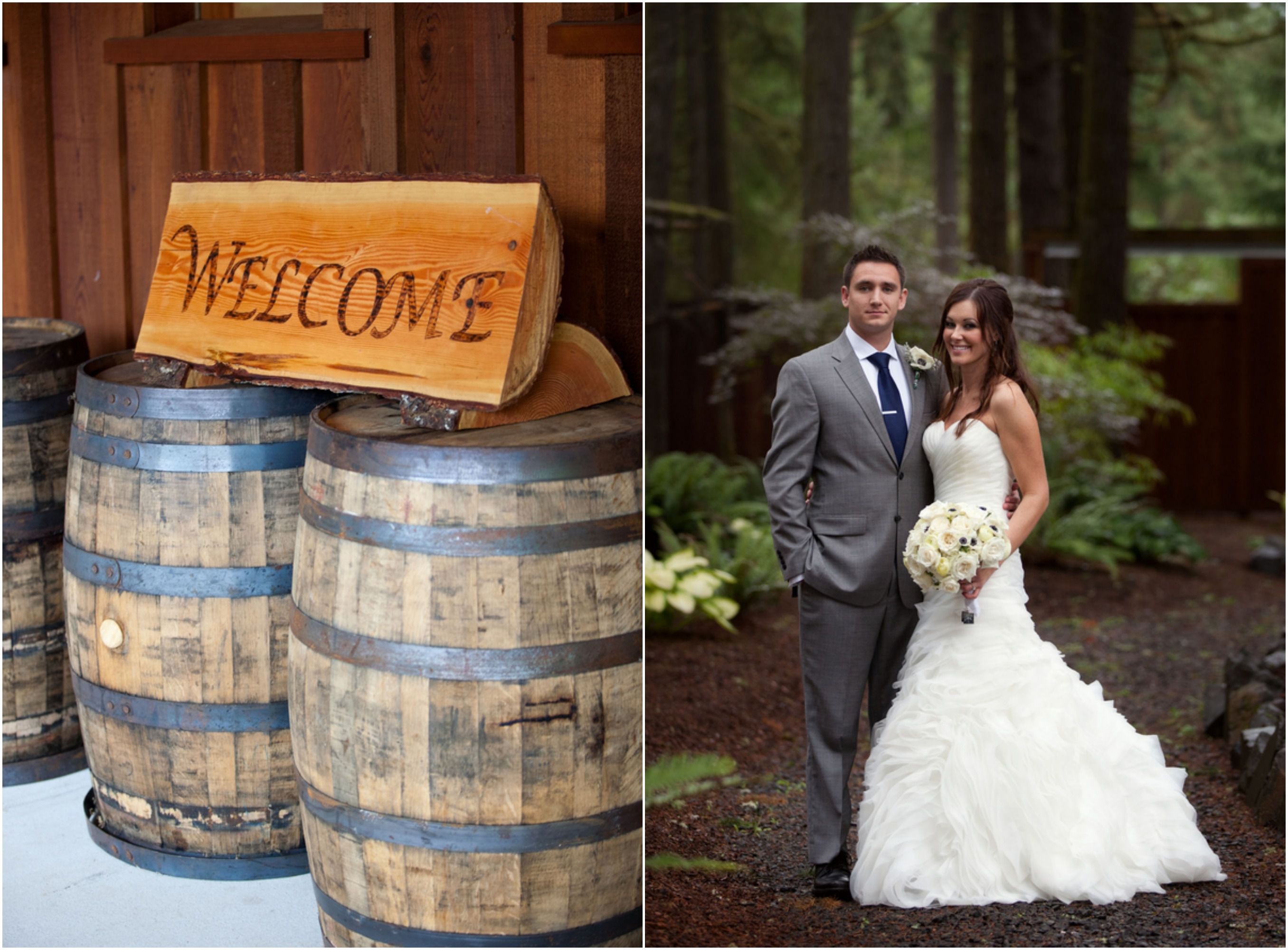 Rustic Wedding With Red Truck Rustic Wedding Chic