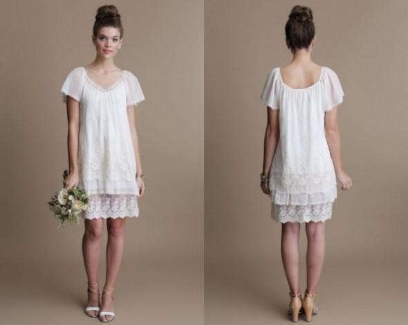 Boho Style Wedding Gowns Rustic Wedding Chic