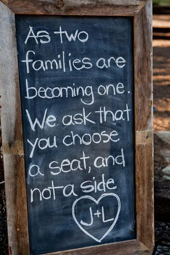 Two Families Wedding Quote