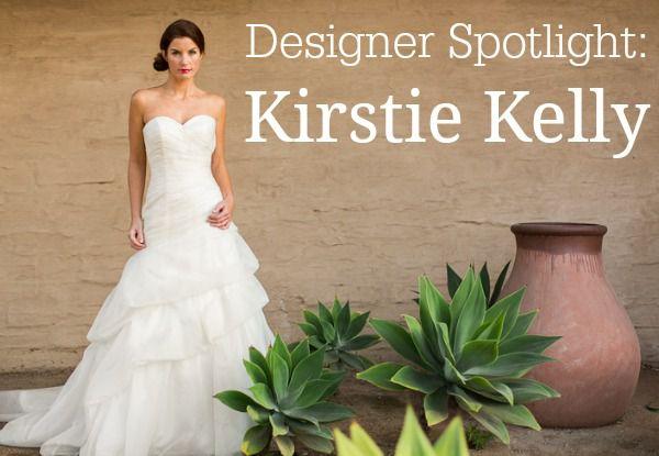 Wedding Gown Designer Spotlight Kirstie Kelly