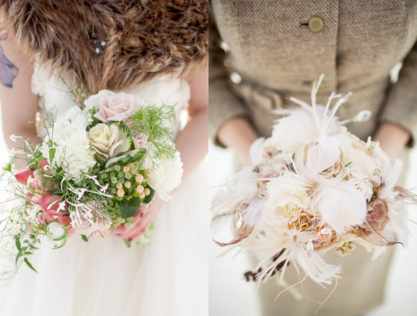 Wedding Style : How to Use Feathers
