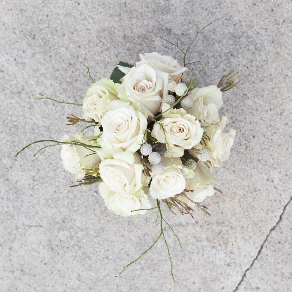 Creating A Woodland Rose & Birch Centerpiece - Rustic Wedding Chic