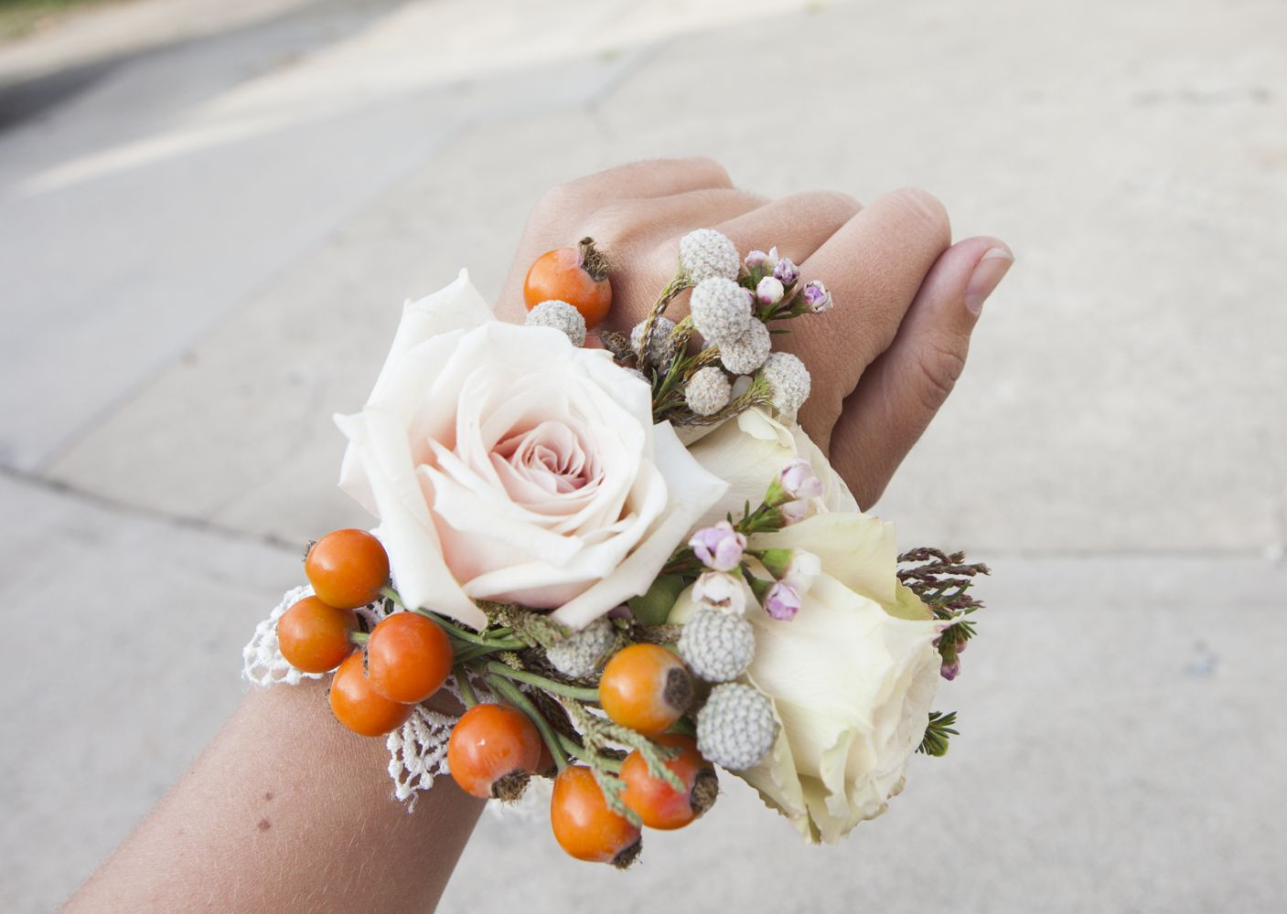 Making a Mother of the Bride Corsage