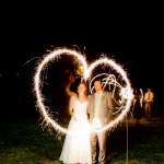 Our Ten Favorite Sparkler Send-Offs!