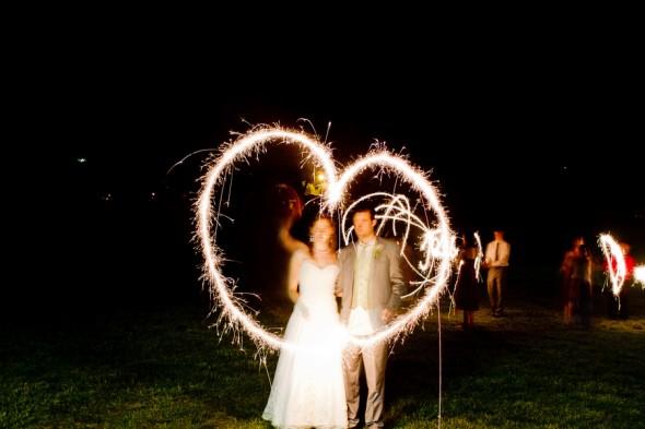 Our Ten Favorite Sparkler Send-Offs!