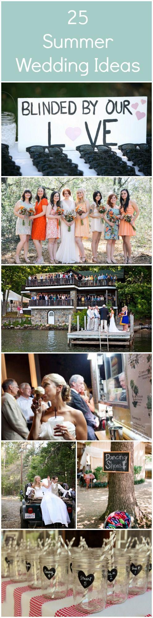 Wedding ideas for summer Wedding Reception Rustic Wedding Chic 25 Great Summer Wedding Ideas Rustic Wedding Chic
