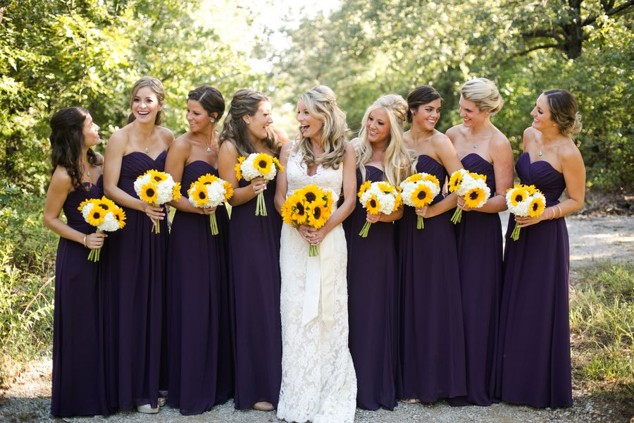 Country Sunflower Wedding Rustic Wedding Chic