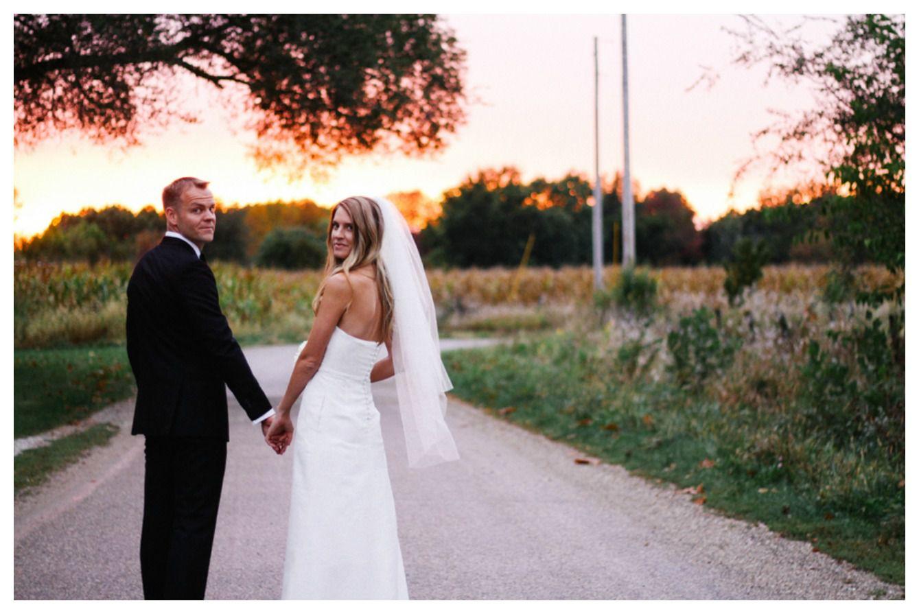 Minimalist Farm Wedding