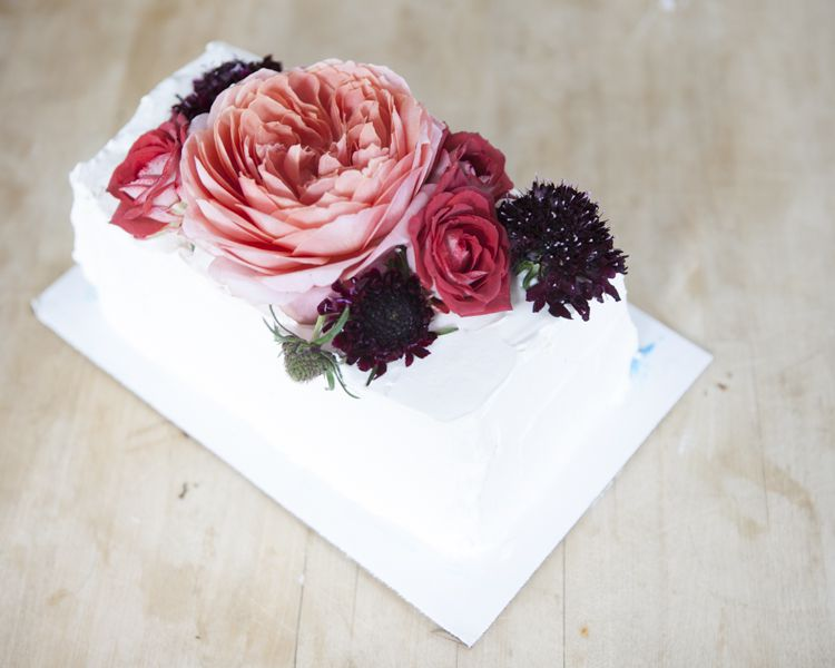 How to make a floral wedding cake topper rustic wedding chic step by step floral wedding cake topper mightylinksfo