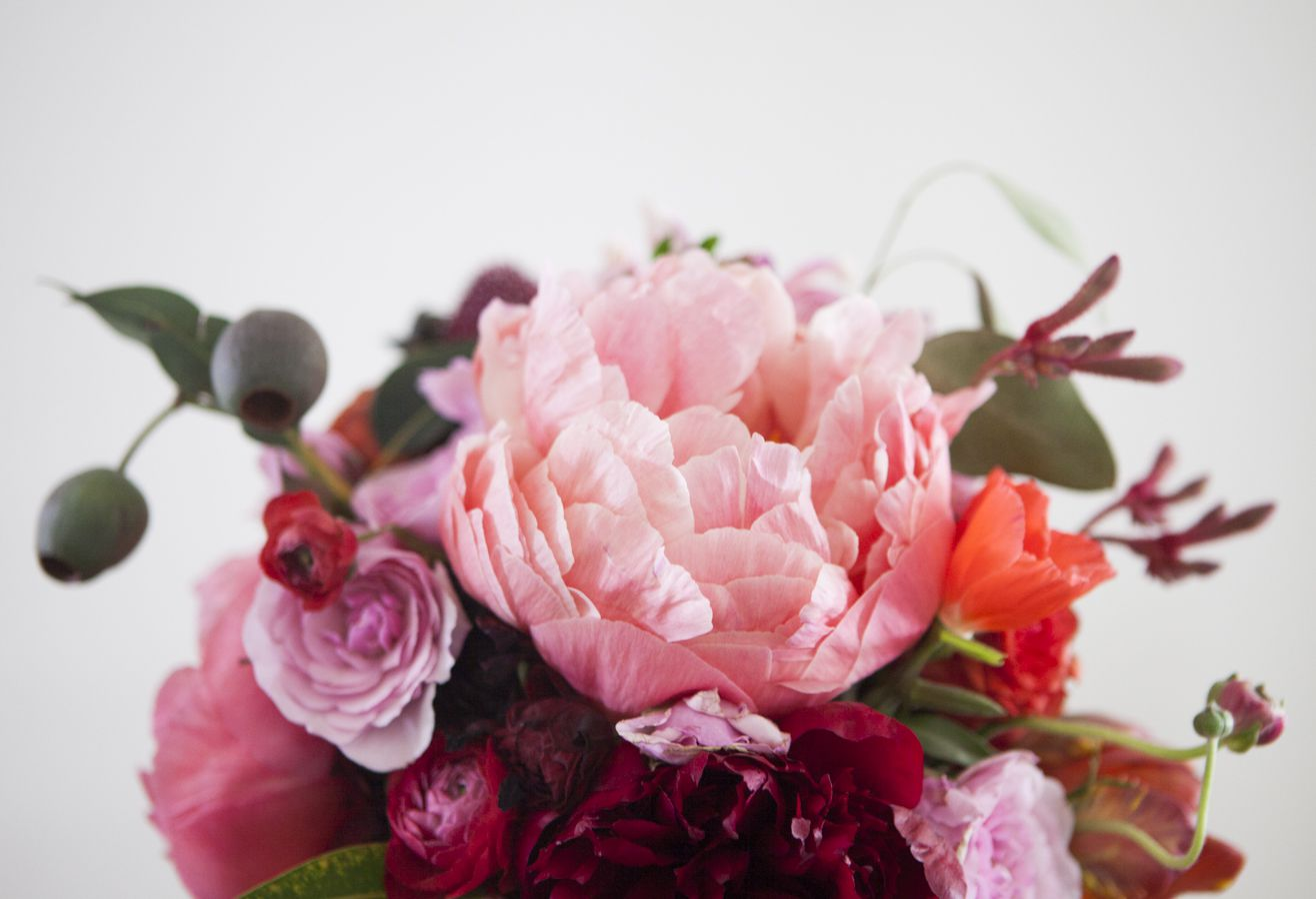 Pinks & Reds : Wedding Floral Inspiration