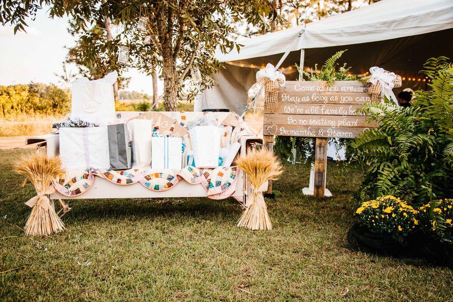 Southern Country Farm Wedding Rustic Wedding Chic