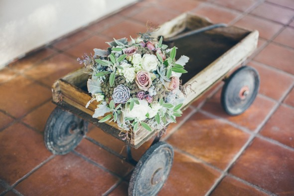Rustic Vintage Wedding Bouquet