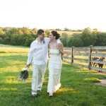 Eco-friendly barn wedding