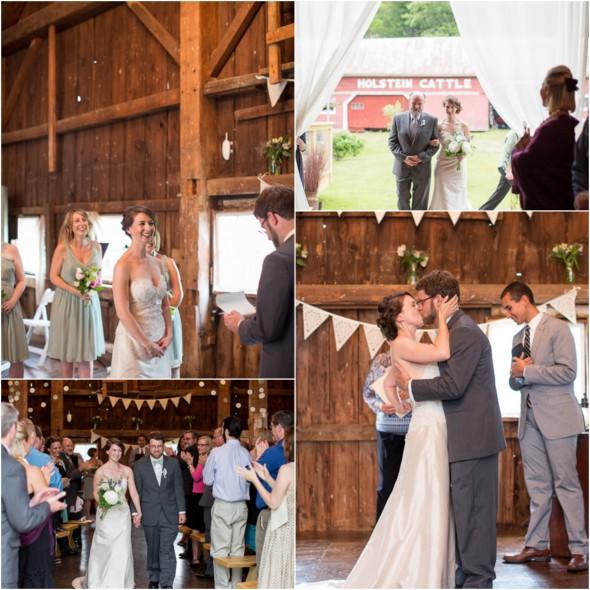 Barn Weddings: Farm Wedding With Vintage Details