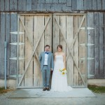 Hat Creek Rustic Wedding Bride and Groom