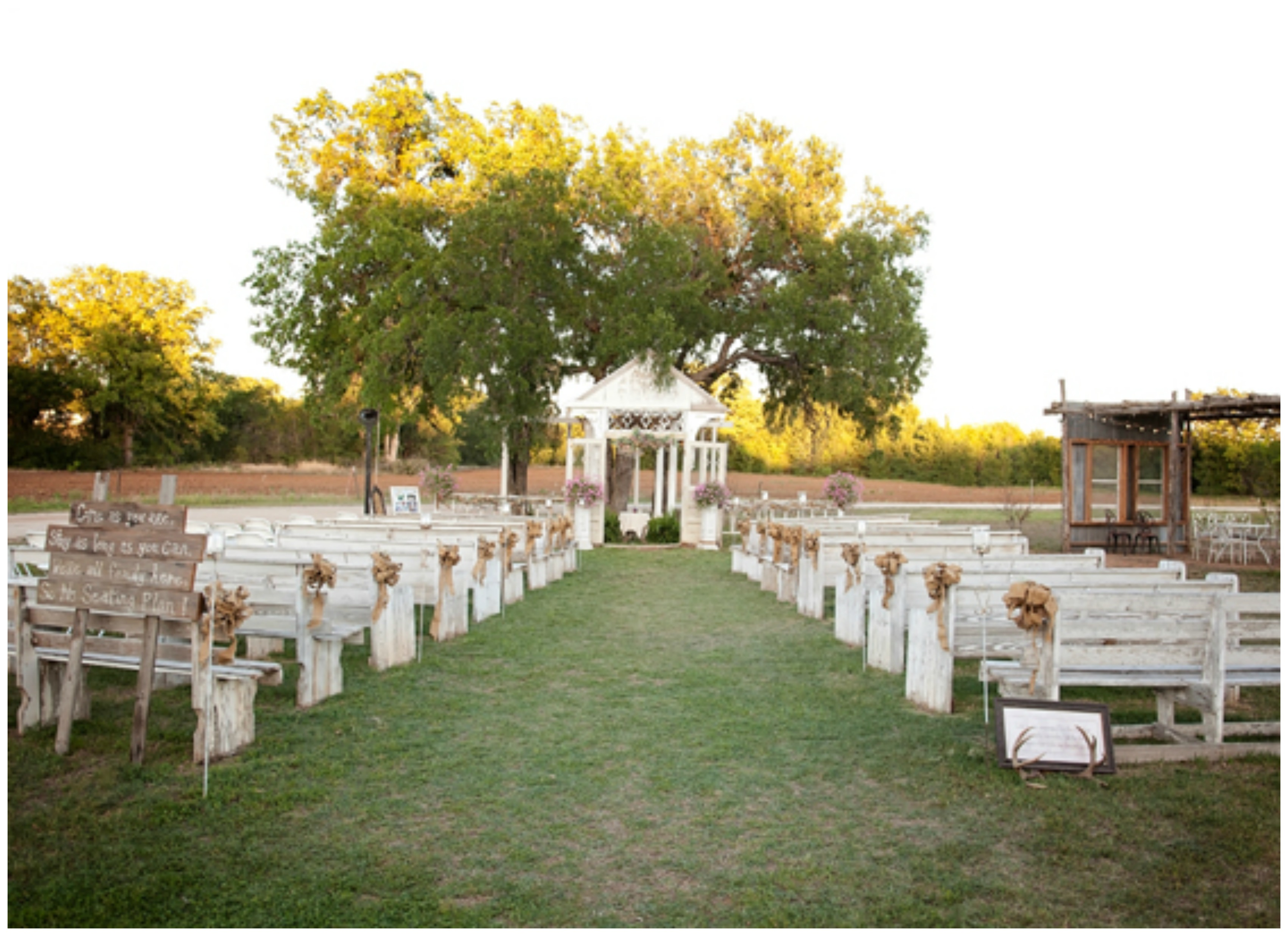 Rustic Texas Country Wedding - Rustic Wedding Chic