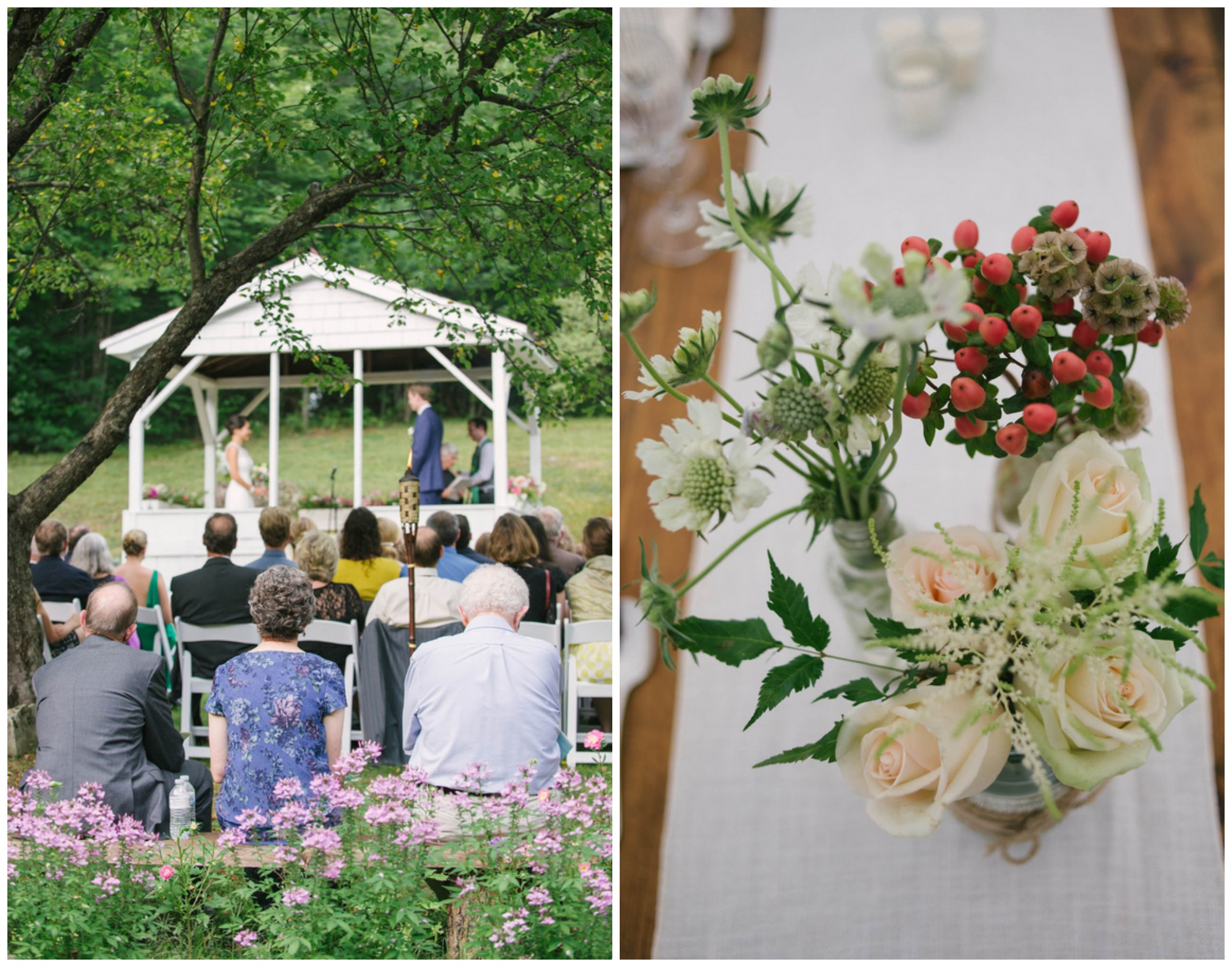 Rustic Style Wedding At Home