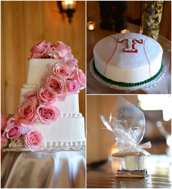 Elegant Texas Country Wedding Cakes and Favor