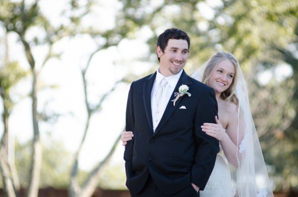 Elegant Texas Country Wedding Bride + Groom