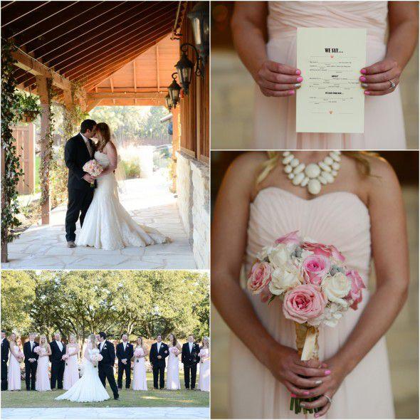 Elegant Texas Country Wedding Wedding Party