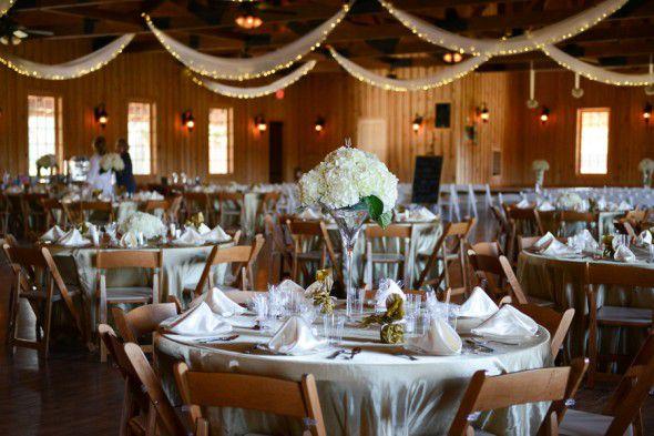 Elegant Texas Country Wedding Wedding Reception