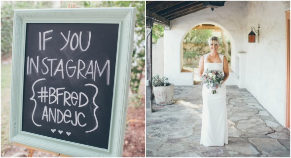Wedding Instagram Sign