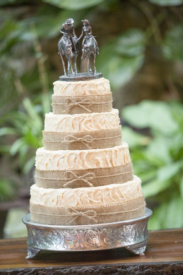 Barn Wedding Cake Toppers