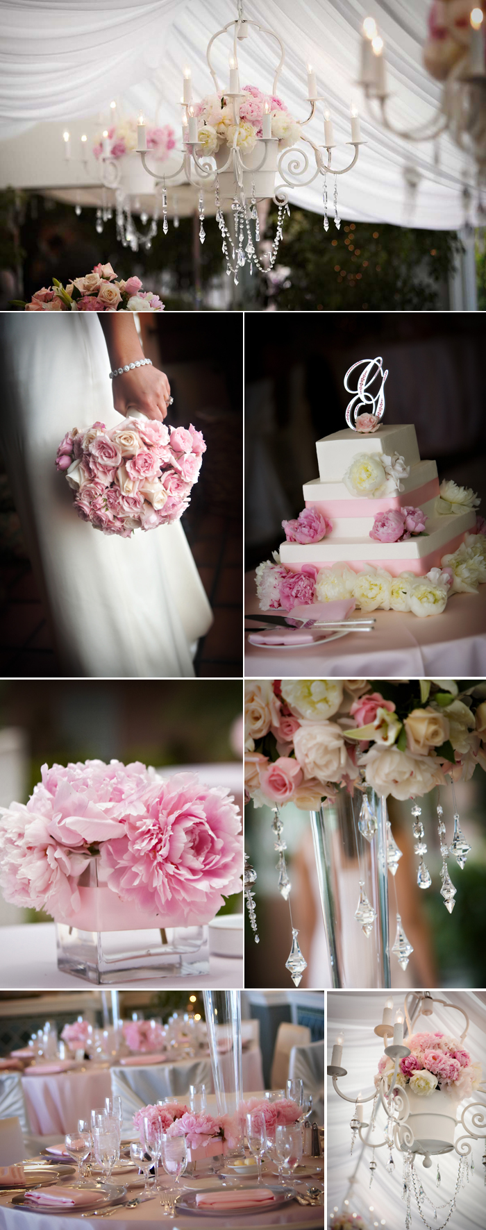 shades of pink wedding color inspiration