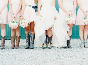 Romantic Elegant Farm Wedding: Leslie + Zach