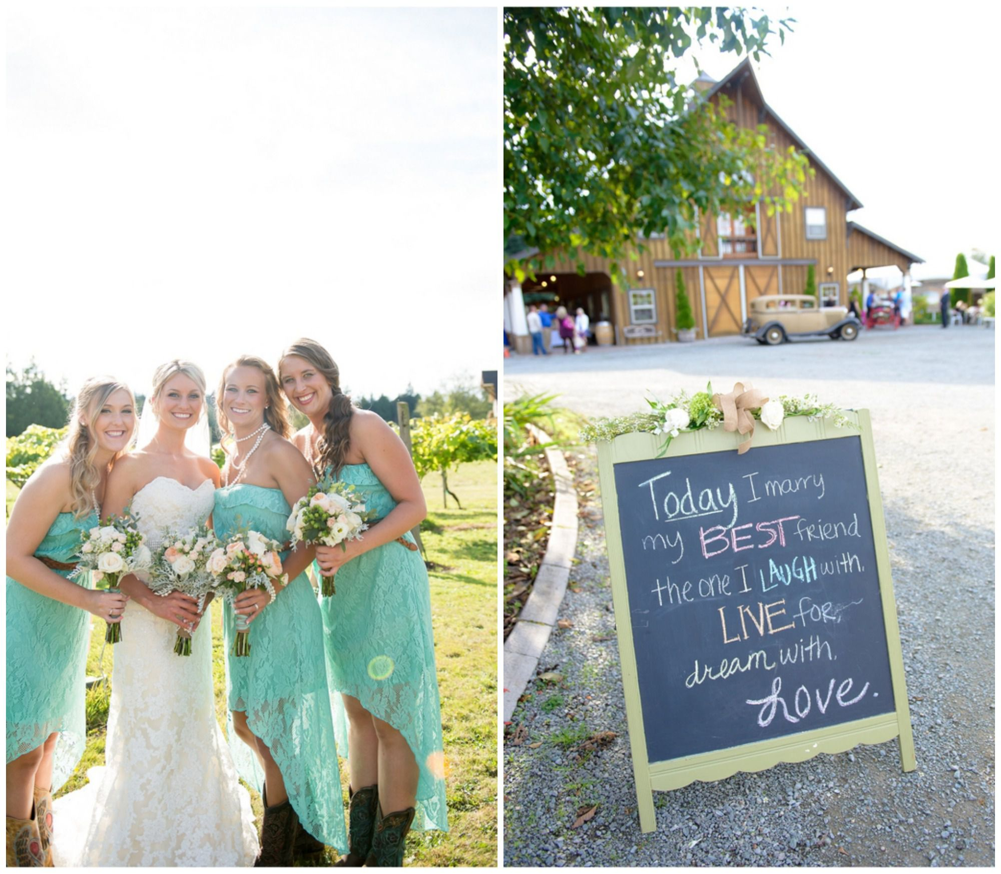 Country Wedding Ideas: Country Wedding On A Budget