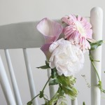 How to Make a Chair Garland
