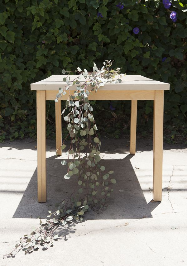 How To Make A Floral Table Runner Rustic Wedding Chic